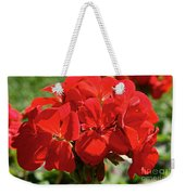 American's Red Weekender Tote Bag