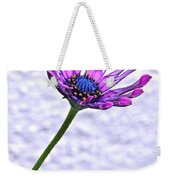 Amethyst Sapphire And Gold Weekender Tote Bag