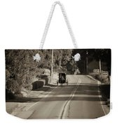 Amish Buggy - Lancaster County Pa Weekender Tote Bag
