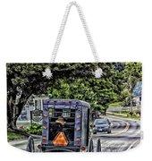 Amish Girl Weekender Tote Bag