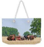 Amish Manure Spreader Weekender Tote Bag