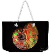 Ammonite Fossil Weekender Tote Bag
