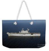Amphibious Assault Ship Uss Peleliu Weekender Tote Bag