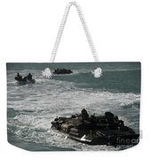 Amphibious Assault Vehicles Transit Weekender Tote Bag
