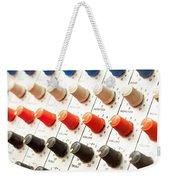 Amplifier Dials Weekender Tote Bag by Tom Gowanlock