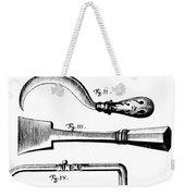 Amputation Instruments, 1772 Weekender Tote Bag