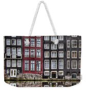Amsterdam Reflections Hdr Weekender Tote Bag