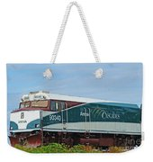 Amtraks Cascade Engine Weekender Tote Bag