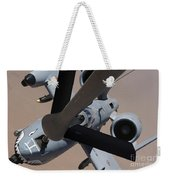 An A-10 Thunderbolt II Receives Fuel Weekender Tote Bag
