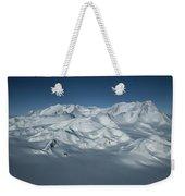 An Aerial View Of Mount Vinson Weekender Tote Bag