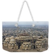 An Aerial View Of Saddam Hussiens Great Weekender Tote Bag by Terry Moore