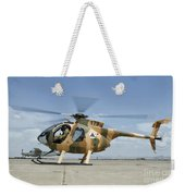 An Afghan Air Force Md-530f Helicopter Weekender Tote Bag