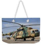 An Afghan Air Force Mi-17 Helicopter Weekender Tote Bag
