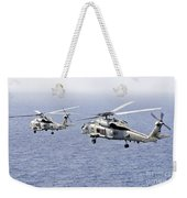 An Airborne Change Of Command Weekender Tote Bag
