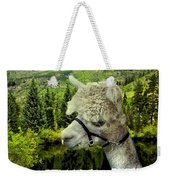 An Alpaca In Vail Weekender Tote Bag