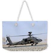 An Apache Helicopter Prepares Weekender Tote Bag