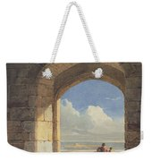 An Arch At Holy Island - Northumberland Weekender Tote Bag