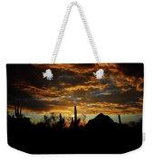 An Arizona Desert Sunset  Weekender Tote Bag