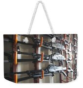 An Armory Of Pk Machine Guns Designed Weekender Tote Bag