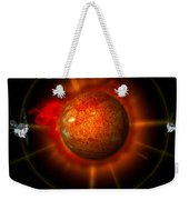 An Artists Concept Of The Stereo Weekender Tote Bag by Stocktrek Images