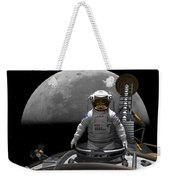 An Astronaut Takes A Last Look At Earth Weekender Tote Bag