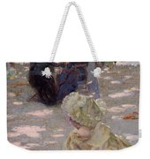 An August Afternoon At The Luxembourg Weekender Tote Bag by Henri-edmond Cross