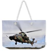 An Australian Army Tiger Helicopter Weekender Tote Bag