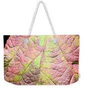 An Autumn's Leaf Weekender Tote Bag