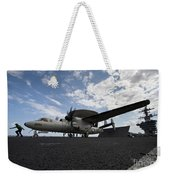 An E-2c Hawkeye Aircraft Prepares Weekender Tote Bag