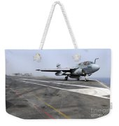 An Ea-6b Prowler Catapults Weekender Tote Bag