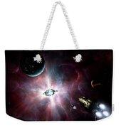 An Enormous Stellar Power Weekender Tote Bag