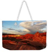 An Evening In The Valley Of Fire Weekender Tote Bag