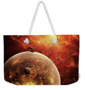 An Eye-shaped Nebula And Ring Weekender Tote Bag