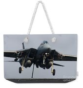 An F-14d Tomcat Comes In For An Weekender Tote Bag