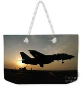 An F-14d Tomcat Makes An Arrested Weekender Tote Bag