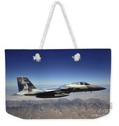 An F-15e Strike Eagle From The 65th Weekender Tote Bag
