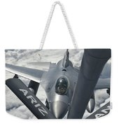 An F-16 From Colorado Air National Weekender Tote Bag