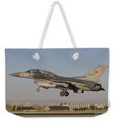 An  F-16b Of The Turkish Air Force Weekender Tote Bag