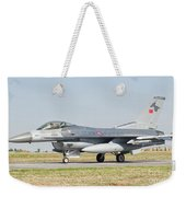 An F-16c Block 50 Of The Turkish Air Weekender Tote Bag