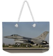 An  F-16c Of The Pakistan Air Force Weekender Tote Bag