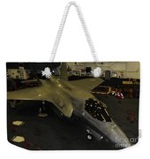 An F-35b Lightning II Is Secured Weekender Tote Bag