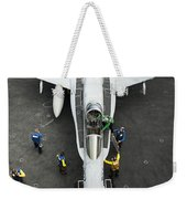 An Fa-18c Hornet Aircraft Weekender Tote Bag