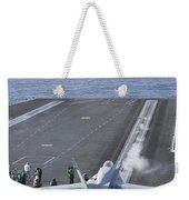 An Fa-18d Hornet Launches Weekender Tote Bag