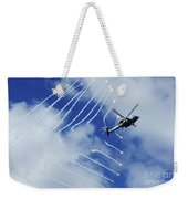 An Hh-60h Sea Hawk Helicopter Releases Weekender Tote Bag