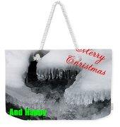 An Icy Christmas Weekender Tote Bag