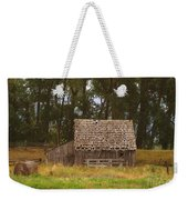 An Idaho Barn Weekender Tote Bag