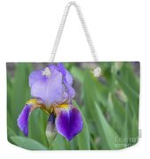 An Iris Blossom Weekender Tote Bag