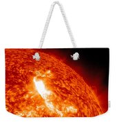 An M8.7 Class Flare Erupts On The Suns Weekender Tote Bag