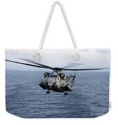 An Mh-53e Sea Dragon In Flight Weekender Tote Bag