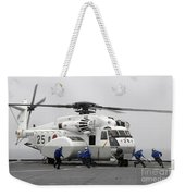 An Mh-53e Super Stallion Helicopter Weekender Tote Bag